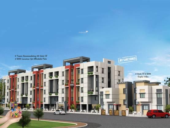 Fakhri Harmony Residency Elevation