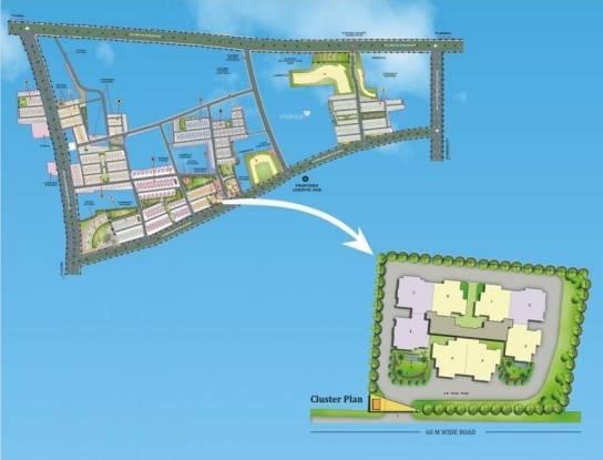 Dhoot Vistara Emerald Layout Plan