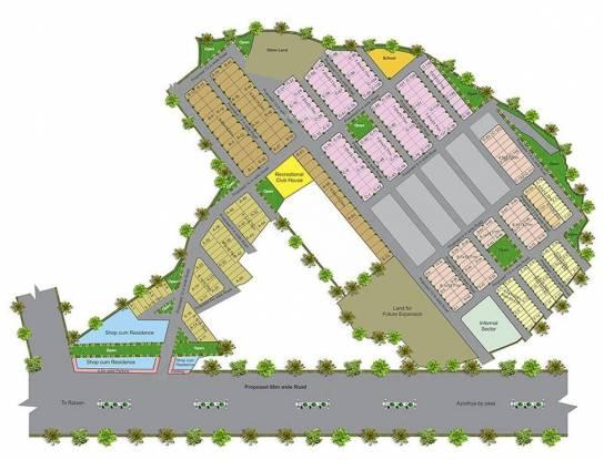 Abhinav Tirupati Layout Plan