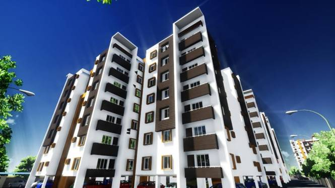 Homebase Panchamukhi Greens Elevation