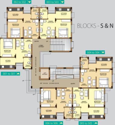 Acrux Realcon Pvt Ltd Acropolis Cluster Plan
