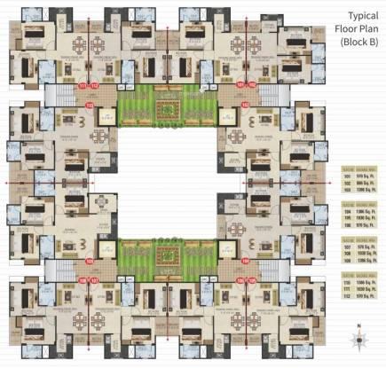 Anukriti Garden 41 Cluster Plan