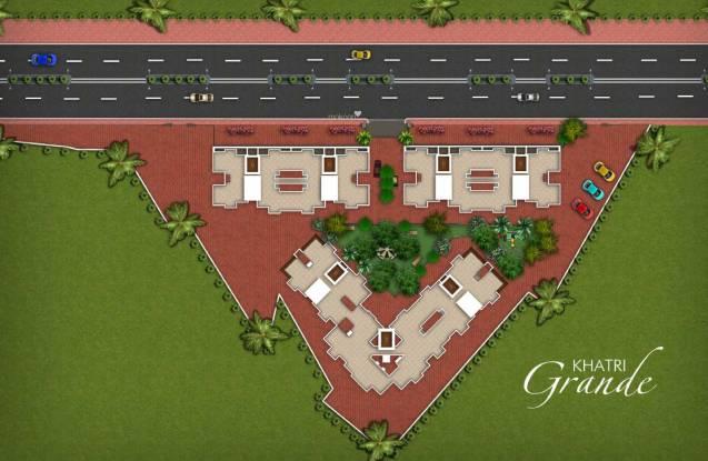 Khatri Grande Site Plan