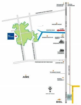 Ruchi Lifescapes Villa Location Plan