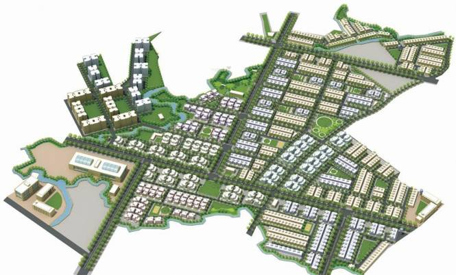 Ruchi Lifescapes Villa Site Plan