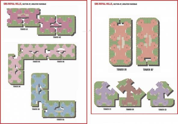 SRS Royal Hills Layout Plan