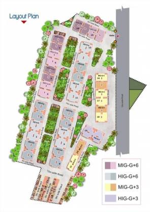 Soumya Parklands Layout Plan