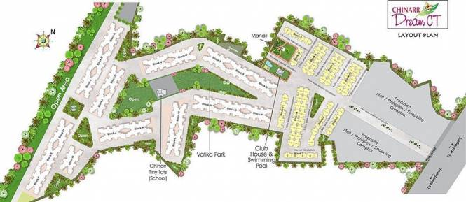 Chinarr Dream CT Layout Plan