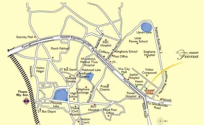 Sheth Vasant Fiona Location Plan