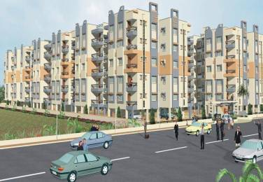 Rushabhdev Sharan Residency Elevation