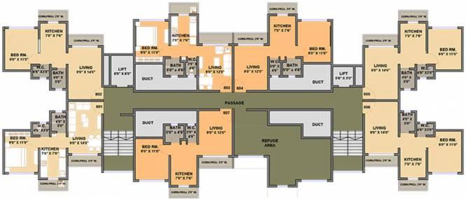 Panvelkar Estate Cluster Plan