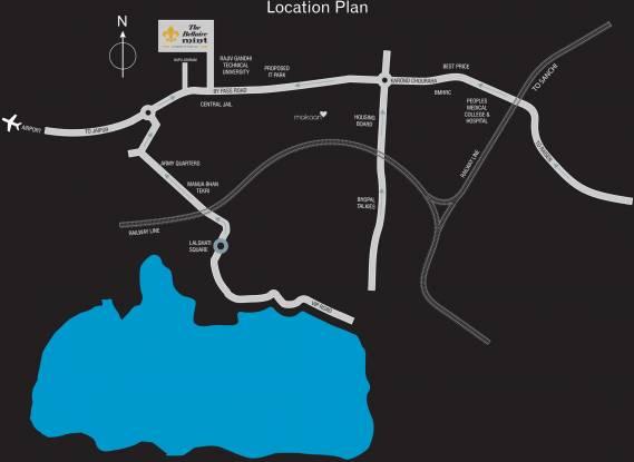 Kamal Bliss Villas Location Plan