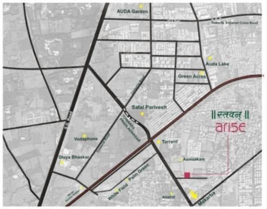 Sambhav Stavan Arise Location Plan