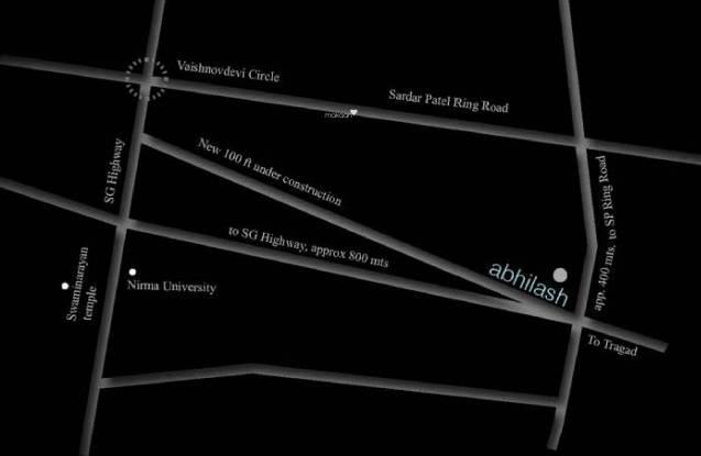 Aavkar Abhilash Location Plan