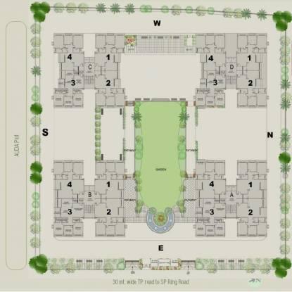 Aavkar Abhilash Site Plan
