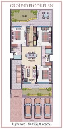 TDI Tuscan Residency Cluster Plan