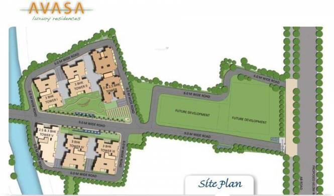 Shristi Avasa Site Plan