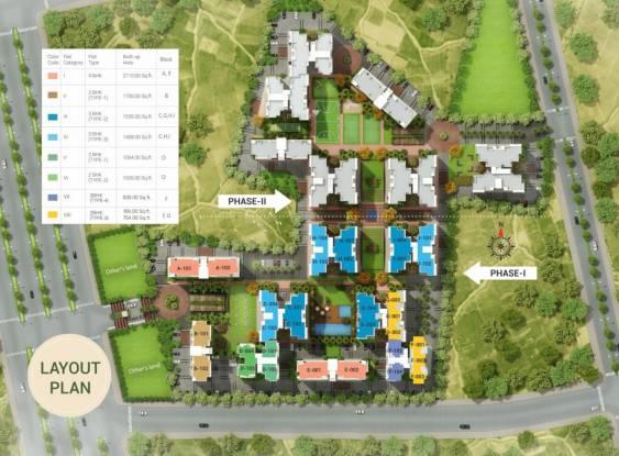 Ashadeep Vedanta Layout Plan