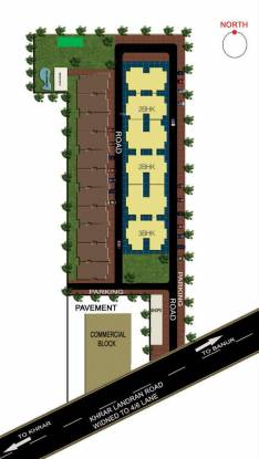Shubham Gold Homes Site Plan