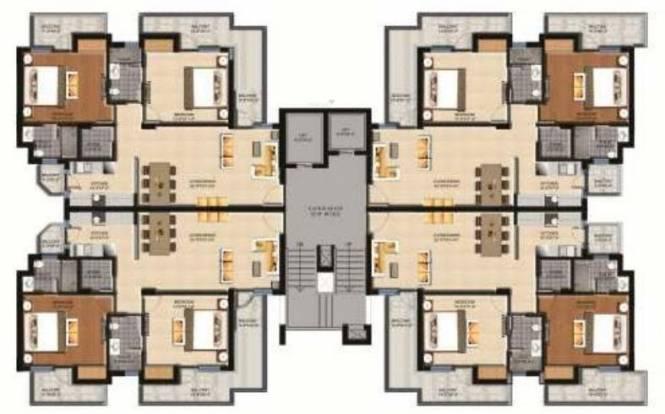 Sushma Sushma Green Vista Cluster Plan