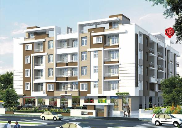 Okay Plus Hare Krishna Homes Elevation