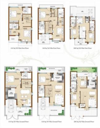 Bajwa Sunny Enclave Cluster Plan