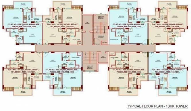 Bajwa Sunny Urban Greens Cluster Plan