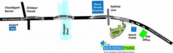 SBP Housing Park Location Plan