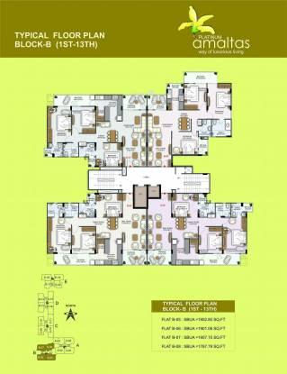 Platinum Amaltas Cluster Plan