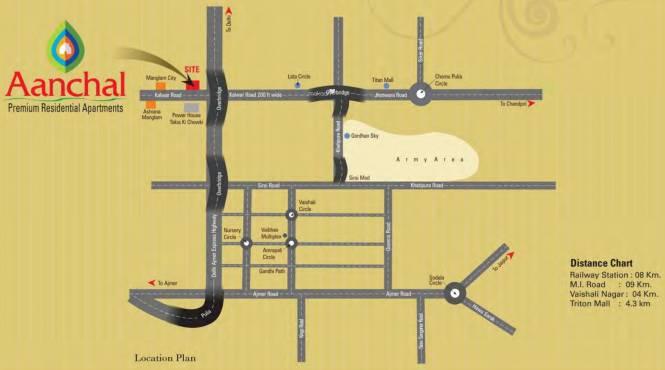 Manglam Aanchal Location Plan