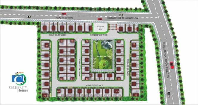Anukampa Celebrity Homes Layout Plan