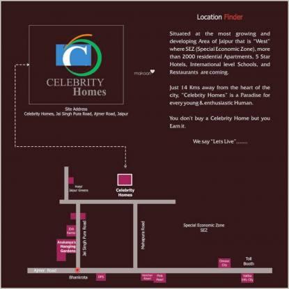 Anukampa Celebrity Homes Location Plan