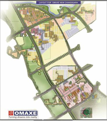 Omaxe Chandigarh Extension Plot Layout Plan