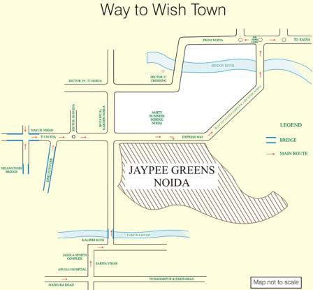 Jaypee Klassic  Location Plan