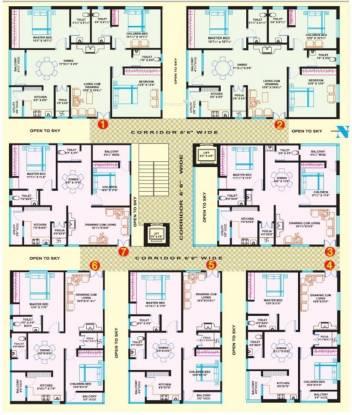 VRR Greenwood Cluster Plan