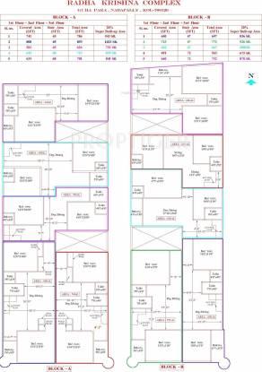 Apex Radha Krishna Complex Cluster Plan