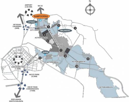 Sampoorna Dwitiya Location Plan