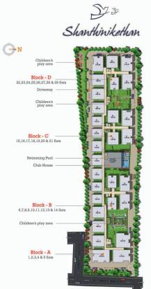 Vasavi Shanthinikethan Site Plan