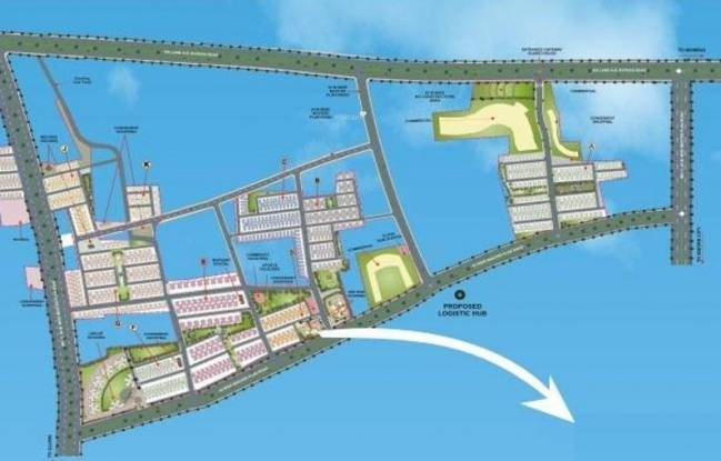 Dhoot Vistara Plot Layout Plan