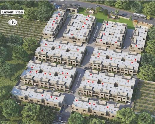 Earth Acropolis Villas Layout Plan