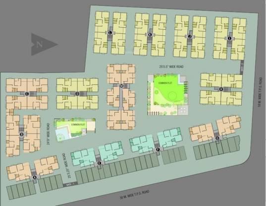Vandemataram Homes Layout Plan