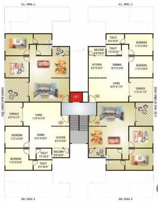 GK Roseland Residency Cluster Plan