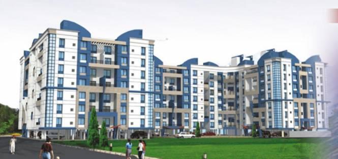 GK Roseland Residency Elevation