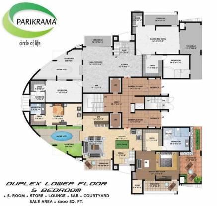 Suncity Parikrama Cluster Plan