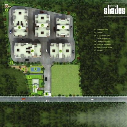 Mega Maval Shades A B Layout Plan