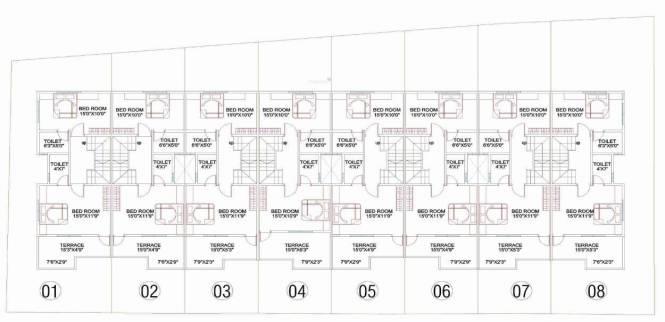 Matoshree Matoshree Park Villa Layout Plan