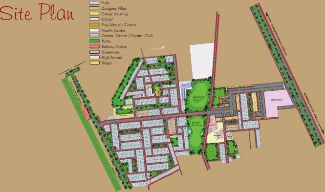 Jtpl flora designer floors in sector 115 mohali mohali for Site plan maker