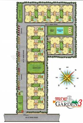 Maya Garden 3 Layout Plan