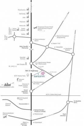 TATA Santorini Location Plan