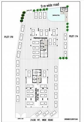 Satyam Heights II Cluster Plan